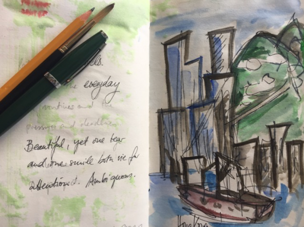 Visual Journaling for Self-Care - Presenter: MARIANNE LAGUTAINE